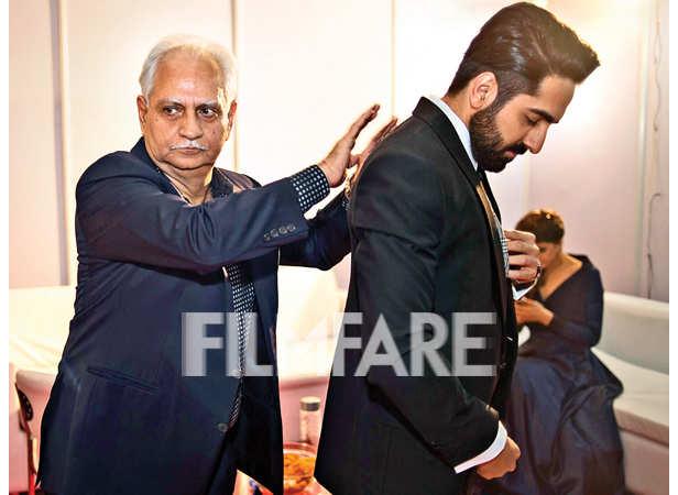 Ramesh Sippy interacts with Ayushmann Khurrana
