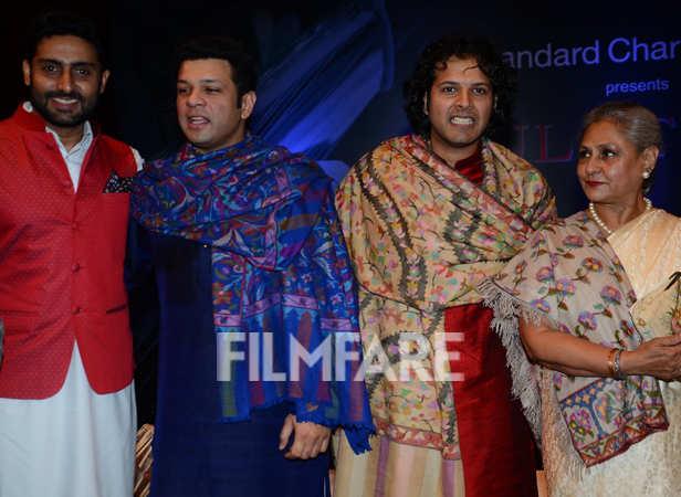 Abhishek Bachchan, Jaya Bachchan, Amaan Ali Khan and Ayaan Ali Khan