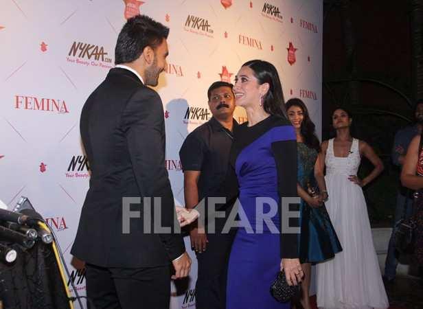 Ranveer Singh and Karisma Kapoor