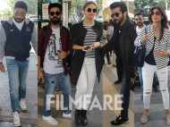 Abhishek Bachchan, Ayushmannn Khurrana, Huma Qureshi and others spotted at the airport