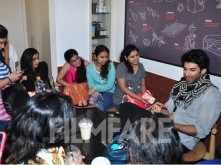 Aditya Roy Kapur's coffee date with female journalists