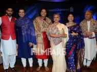 Jaya Bachchan and Abhishek Bachchan attend a music concert