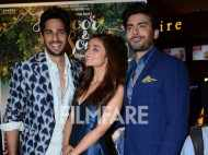 Sidharth Malhotra, Alia Bhatt and Fawad Khan launch Kapoor & Sons Trailer