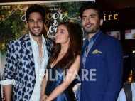 Sidharth Malhotra, Alia Bhatt and Fawad Khan launch Kapoor & Sons Trailer
