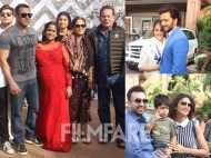 Salman Khan, Riteish Deshmukh, Shilpa Shetty at Arpita Khan's baby shower