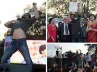 Shah Rukh Khan launches Fan anthem at Hansraj college