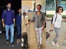 Adtiya Roy Kapur, Esha Gupta, Prachi Desai and Radhika Apte snapped at the airport