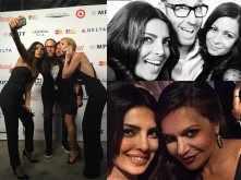 Priyanka Chopra's selfie mania at the Pre-Oscars party