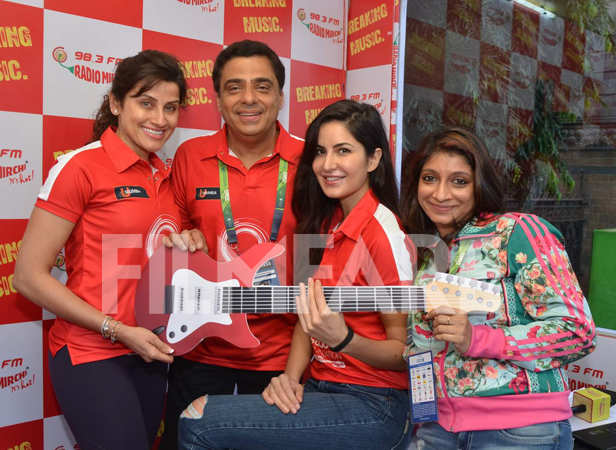 Yasmin Karachiwala, Ronnie Screwvala and Katrina Kaif