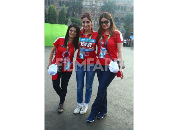 Zarina Mehta, Farah Khan Ali and Simone Khan