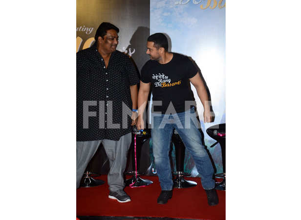 Ganesh Acharya and Aamir Khan