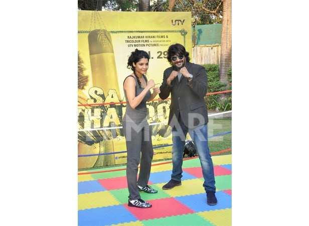 Ritika Singh and R Madhavan
