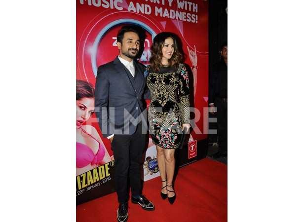 Vir Das and Sunny Leone