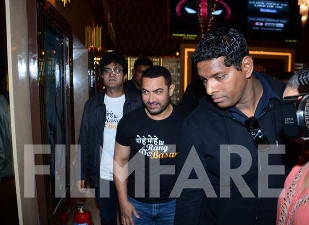 Aamir Khan and Prasoon Joshi