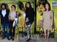 Kangana Ranaut, Shilpa Shetty, Dia Mirza watch Saala Khadoos