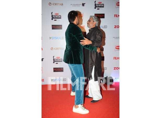 Ranveer Singh and Sanjay Leela Bhansali