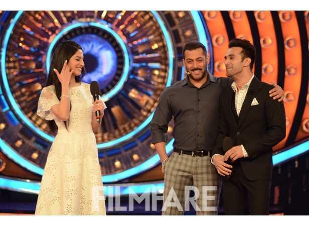 Divya Khosla Kumar, Salman Khan and Pulkit Samrat