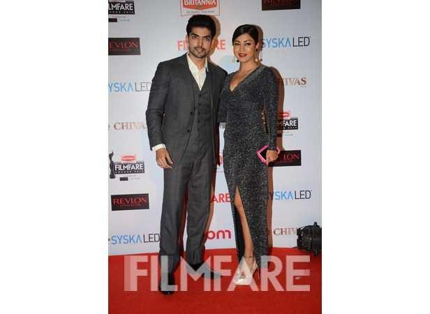 Gurmeet Choudhary with wife Debina