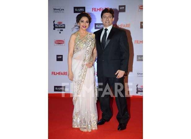 Madhuri Dixit and Sriram Nene