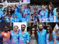 Preity, Ayushmann, Sooraj and Kriti at CCL match