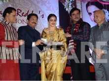 Rekha honoured with a Yash Chopra Memorial Award