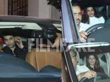 Karan Johar, Twinkle Khanna and Sonali Bendre party together