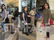 Kriti Sanon, Soha Ali Khan and Neetu Singh travel away