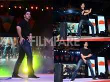 Sooraj Pancholi shows off his moves