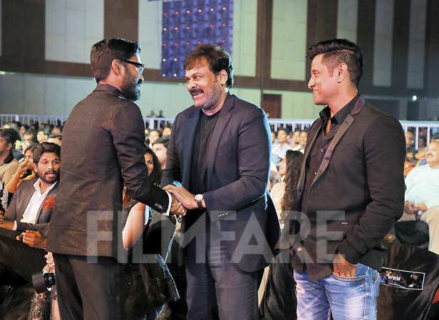 Dhanush greets Chiranjeevi and Vikram