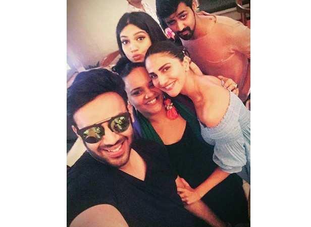Nikhil Thampi, Shanoo Sharma, Vaani Kapoor and Bhumi Pednekar