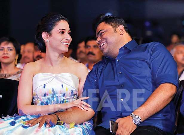 Tamannaah and Vamsi Paidipally in conversation