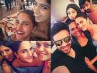 Bhumi Pednekar's pre birthday celebrations with Vaani Kapoor and Shanoo Sharma