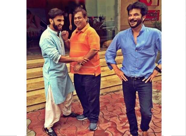 Ranveer Singh, David Dhawan and Anil Kapoor
