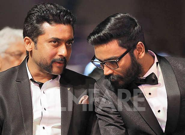 Suriya and Dhanush bond