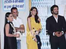 Abhay Deol, Diana Penty and Ali Fazal launch the trailer of Happy Bhag Jayegi