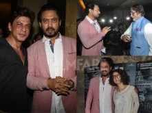 Amitabh Bachchan, Shah Rukh Khan and Kangana Ranaut watch Madaari with Irrfan
