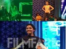 Rakul Preet, Pranitha, Aparna Vinod rehearse for the 63rd Britannia Filmfare Awards (South)