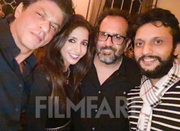 Shah Rukh Khan, Krishika Lulla, Aanand L Rai and Mohammed Zeeshan Ayyub