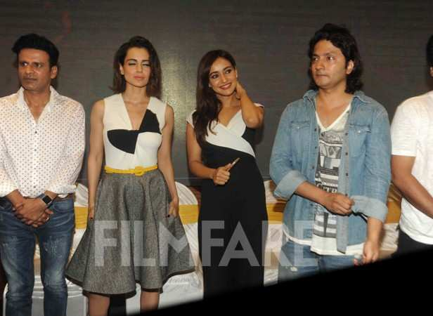 Manoj Bajpayee, Kangana Ranaut, Neha Sharma and Shirish Kunder