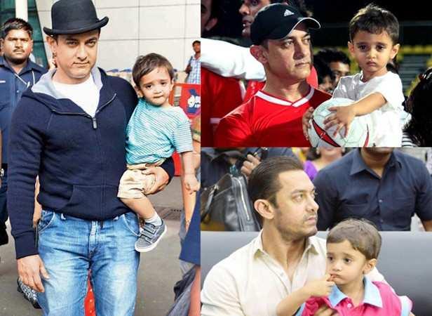 Aamir Khan and Azad Rao Khan