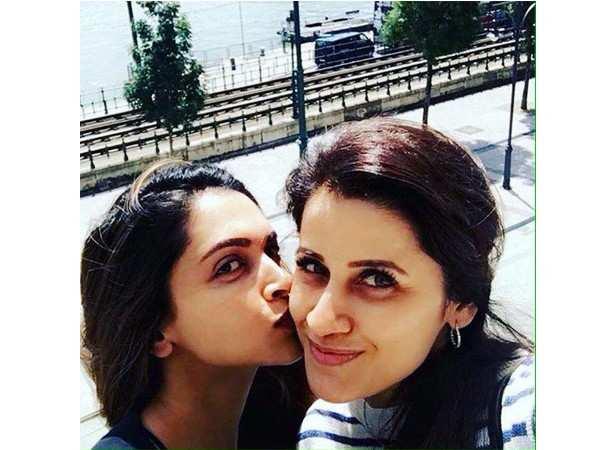 Deepika Padukone with her trainer Yasmin Karachiwala