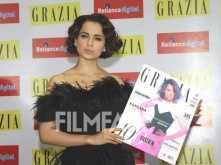 Kangana Ranaut stuns at the Grazia cover launch