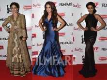 Rakul Preet, Parul Yadav, Catherine Tresa sizzle on the red carpet at the 63rd Britannia Filmfare Awards