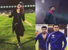 Sonakshi Sinha, Ranbir Kapoor, Arjun Kapoor and Abhishek Bachchan's candid moments from the Celebrity Clasico match