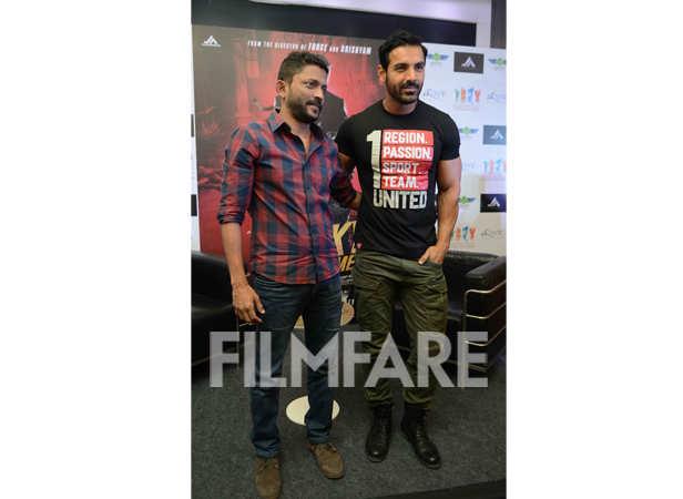 Nishikant Kamat and John Abraham