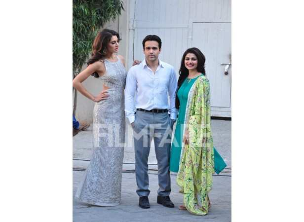 Nargis Fakhri, Emraan Hashmi and Prachi Desai