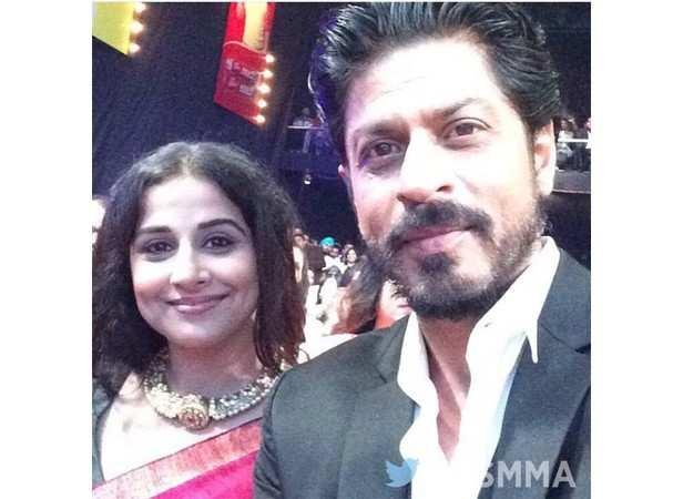 Vidya Balan and Shah Rukh Khan