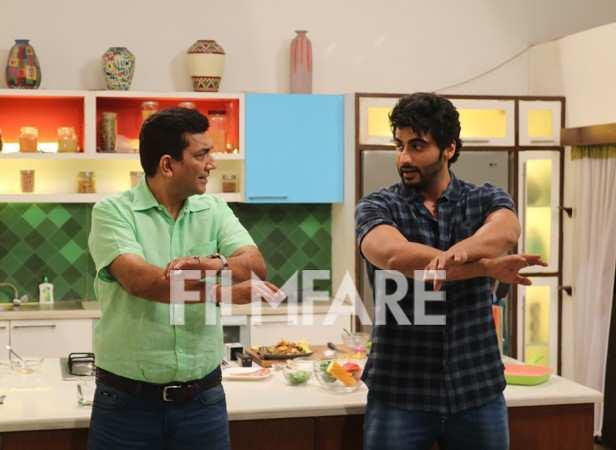 Sanjeev Kapoor and Arjun Kapoor