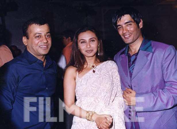 Rani Mukerji with Manish Malhotra
