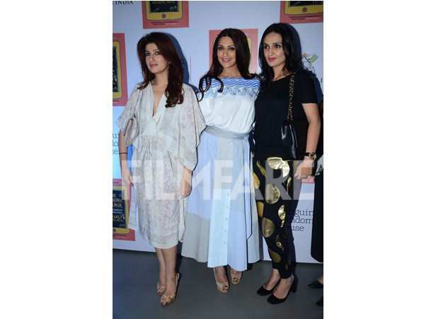 Twinkle Khanna and Sonali Bendre